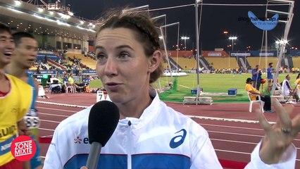 Marie-Amélie Le Fur - Championne du Monde de Saut en longueur T44 - Doha 2015