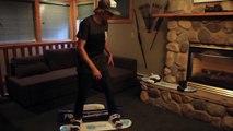 Balance Bar Training: Rotation & Counter Rotation on a Snowboard