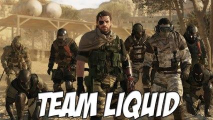 Metal Gear Online: Team Liquid Vs Team Solid en MME