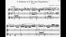 Mozart - Andante für eine Walze in eine kleine Orgel KV 616