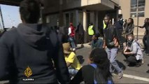 South Africa students clash with police over fees