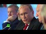 Putin: Not worried about democracy coming to our borders, but about NATO coming to our borders