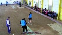 Troisième tour, Digoin contre Nyons, Club Elite Féminin J2, Sport Boules, saison 2015 / 2016