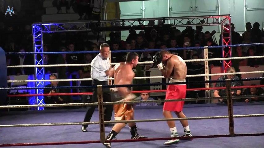 Nicolas Dion - Matiouze Royer : championnat de France boxe super-moyens 22/10/2015
