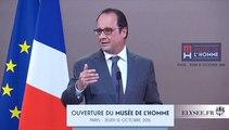 Le Président de la République inaugure le nouveau Musée de l'Homme