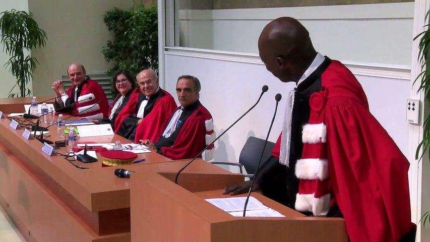 Honoris Causa Vassilios Skouris - Allocution de Hugues Kenfack, doyen de la Faculté de Droit et Science Politique, Université Toulouse 1 Capitole | Godialy.com
