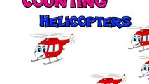 Counting Helicopters | Teach Kids Numbers Counting 123, Kids Number Learning Video, Learn