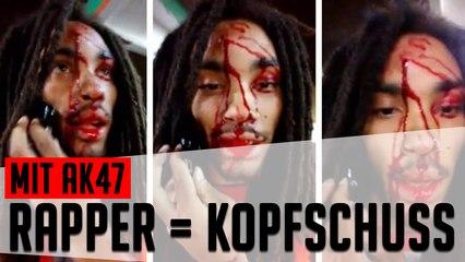 Rapper filmt sich nach Kopfschuss [Headline]