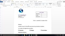 Word - Comment insérer un tableau Excel dans un document Word