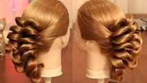 Pretty Awesome New Hairstyle For Weddings and Parties