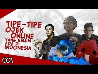 Tipe Tipe Ojek Online Yang Belum Ada Di Indonesia