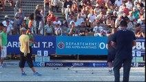 Quart de finale de l'Europétanque Département des Alpes-Maritimes à Nice 2015 : CORTES vs EMILE