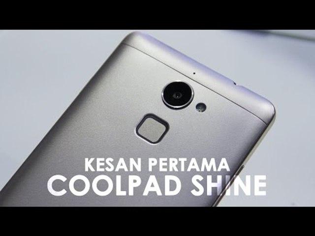 Kesan Pertama Coolpad Shine Dengan Sensor Sidik Jari