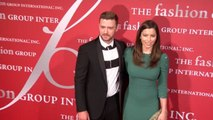 Justin Timberlake & Jessica Biel At Gala