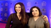 Farah Khan, Emran Hasmi At Red Carpet Premiere Of India 1st Ever Stage Musical-beauty & The Beast