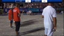 Quart de finale de l'Europétanque Département des Alpes-Maritimes à Nice 2015 : Dylan ROCHER vs Tyson MOLINAS
