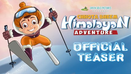 Chhota Bheem Himalayan Adventure Official Teaser HD | 8th January