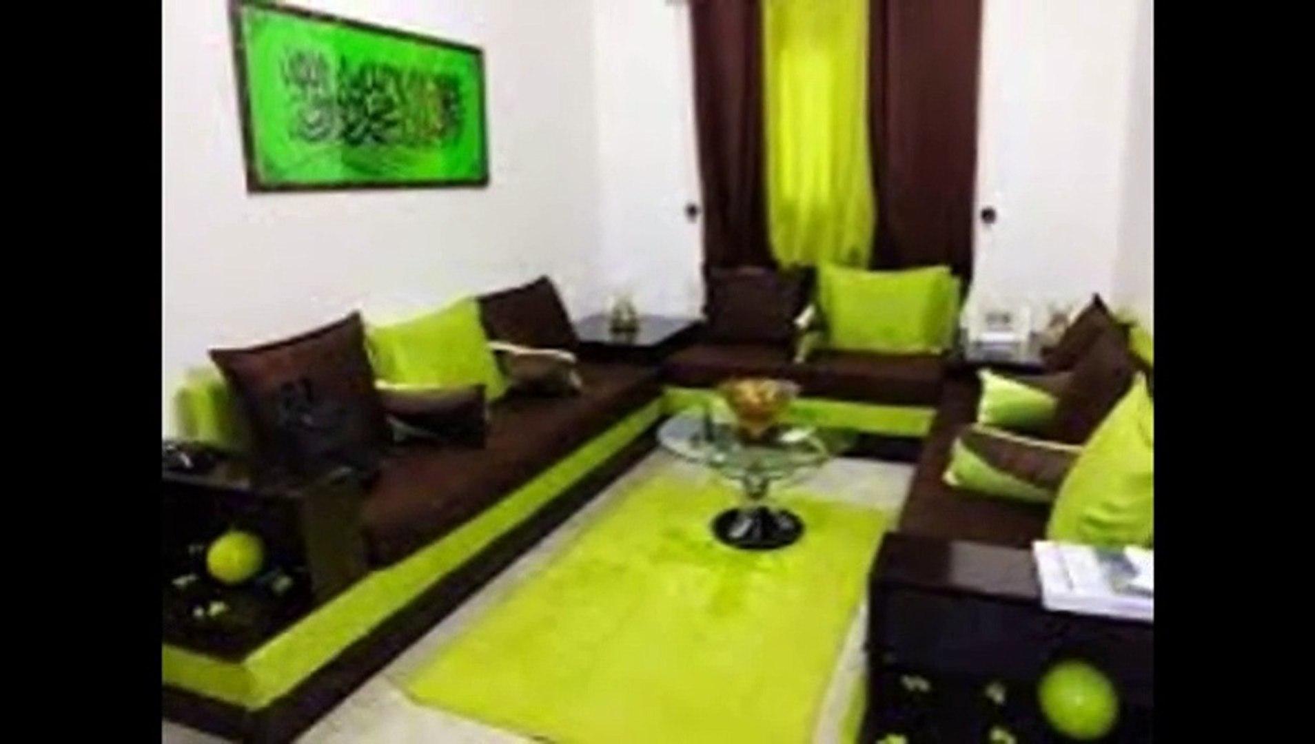 Salon marocain vert pistache