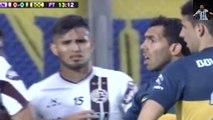 Carlos Tevez insultó a Araujo - Lanús vs Boca Juniors | Semifinal Copa Argentina 2015