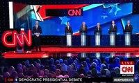 FULL Part 1 CNN Democratic Debate 2015 Bernie Sanders, Hillary Clinton,O'malley,Webb & Chafee - 360p