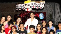 Raveena Tandon Celebrates Dussehra With Children!!