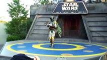 Boba Fett dances to Michael Jackson and Lady Gaga at Disneys Star Wars Weekends 2010