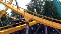 Georgia Scorcher Roller Coaster Front Seat POV Six Flags Over Georgia