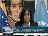 Venezuela denuncia ante ONU maniobras militares de Guyana en Esequibo