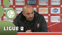 Conférence de presse Stade Brestois 29 - Valenciennes FC (1-2) : Alex  DUPONT (BREST) - David LE FRAPPER (VAFC) - 2015/2016