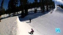 How to do Miller Flips on a snowboard (Regular) Handplants Snowboard Addiction Free Sectio