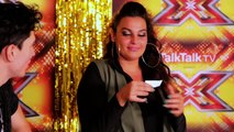 The X Factor Backstage with TalkTalk TV | Ep 18 | Monica Michael goes Scouse for Judges'