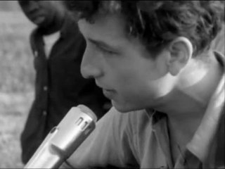 Bob Dylan-- Only A Pawn In Their Game Live (clip)