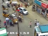 Car Vs Pedestrian | Caught by CCTV Cam | Live Accidents in Ind.I TIRUPATI TRAFFIC POLICE I