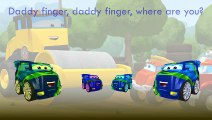 The Adventures of Chuck And Friends Finger Family Song Daddy Finger Nursery Rhymes Biggs D