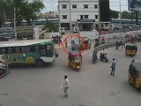 Bus Vs Bike | Caught by CCTV Cam | Live Accidents in India | Tirupati Traffic Police