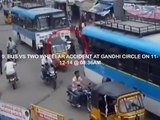 Accidents Due to Negligent Driving   Live Accidents in India   Tirupati Traffic Police