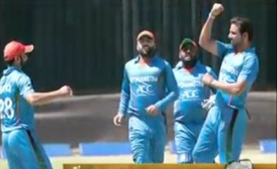 watch Afghanistan beats Zimbabwe, Wins One Day Series 3-2