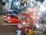 Accidents Due to Blind Turns | Live Accidents in India | Tirupati Traffic Police