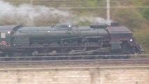 des train qui passent- de la vapeur au TGV - trains divers en automne a Donzere -