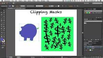Creating a basic clipping mask _ Learn Illustrator CC _ Adobe TV
