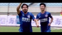 Sergio Escudero Incredible Bicycle Kick Goals Jiangsu Sainty VS Hangzhou Greentown