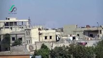 Syrian, Russian jets carry out air strike north to the city of Homs