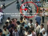 Accidents Due to Skidding | Live Accidents in India | Tirupati Traffic Police