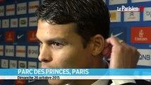PSG - Saint-Etienne, Thiago Silva : «Maintenant, Ibra et Cavani se font des passes »