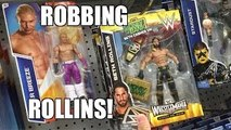 STEALING SETH ROLLINS WWE Elite Figure From TOYSRUS Wrestling Toy Hunt!