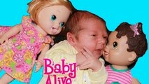 Baby Alive BOY BABY Newborn AllToyCollector New Baby - Baby Alive Dolls in LOVE Toys Video