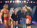 The Four Horsemen vs. Sting, Brian Pillman & The Steiner Brothers