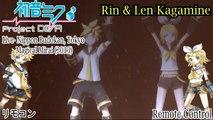 Project DIVA Live- Magical Mirai 2015- Rin & Len Kagamine- Remote Control (HD)