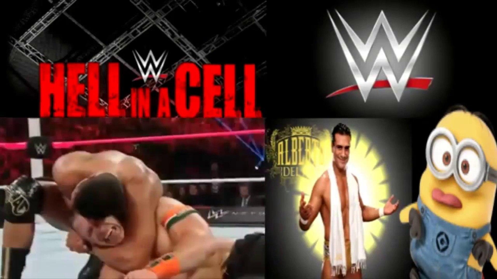 John Cena Vs Alberto Del Rio Hell In A Cell 2015 Full Match