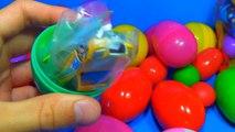 30 Surprise Eggs!!! Disney CARS MARVEL Spider Man SpongeBob HELLO KITTY PARTY ANIMALS Lps